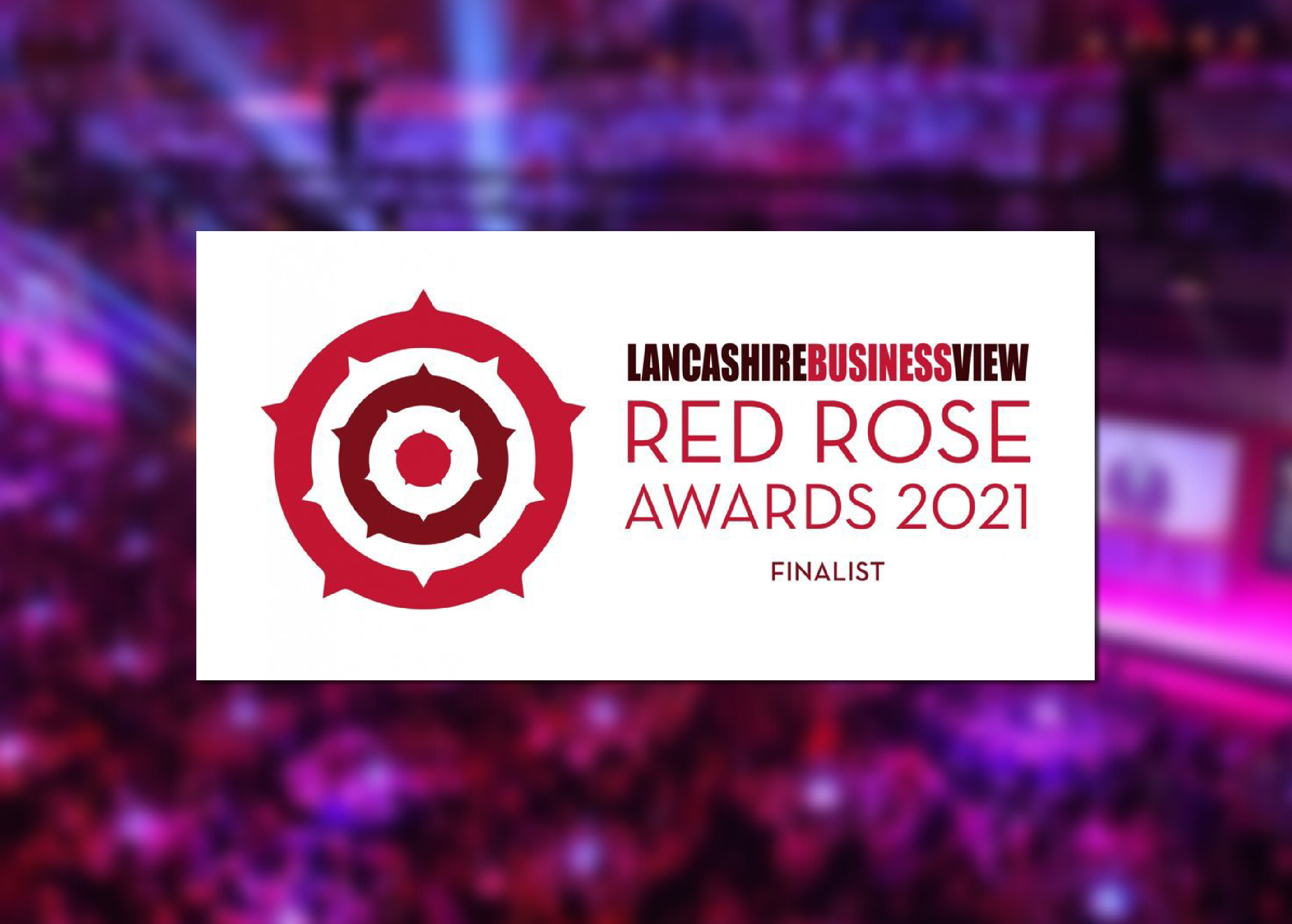 We are nominated for the Resilience Award at the Red Rose Awards 2021